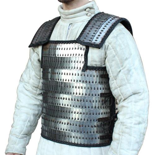 Lemellar Roman 20g Scale Armor Vest Large