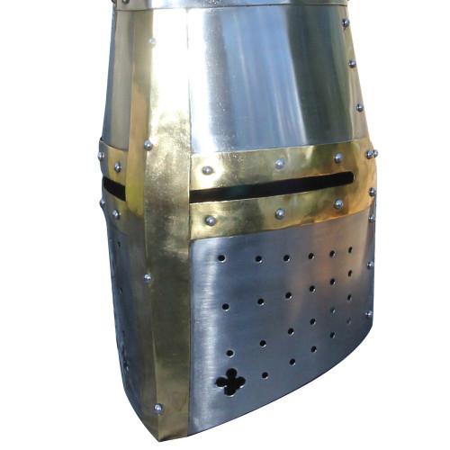 Great Helm Knights Templar Crusader Helmet
