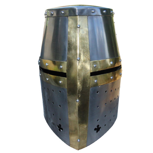 Great Helm Knights Templar Crusader Helmet