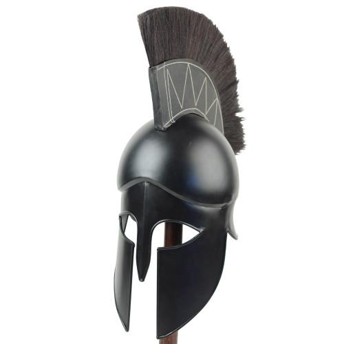 Dark Legionnaire Greek Corinthian Helmet