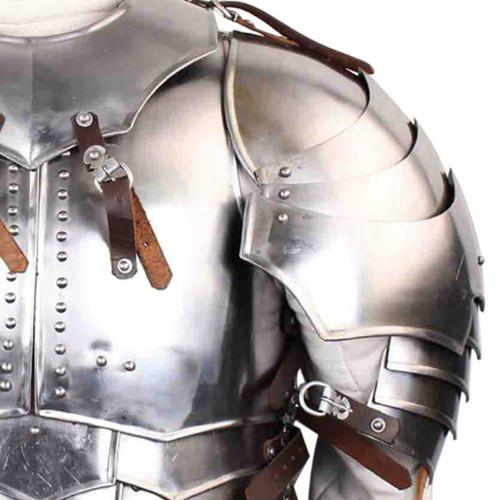 Medieval 18g Steel Avenger Pauldrons Set