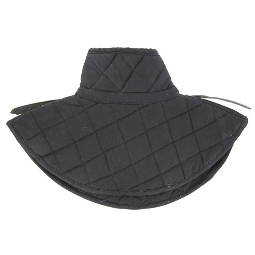 Cotton Armor Padding Collar Medieval Garment Black