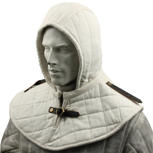 Cotton Padded Collar Armor And Cap