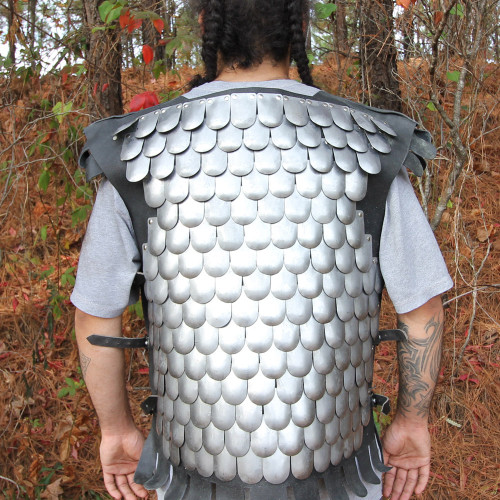 Medieval Middle Age Body Scale Armor 6C3-IN9111XL