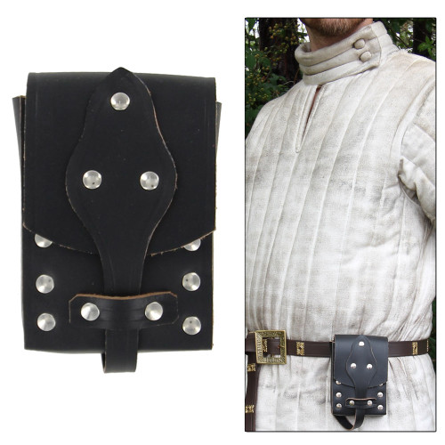 Genuine Leather Last Ride Belt Pouch