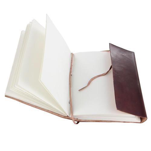 Handmade Jolly Roger Booty Log Journal