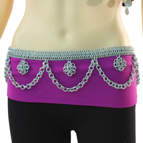 Bohemian Belly Dancing Chainmail Belt