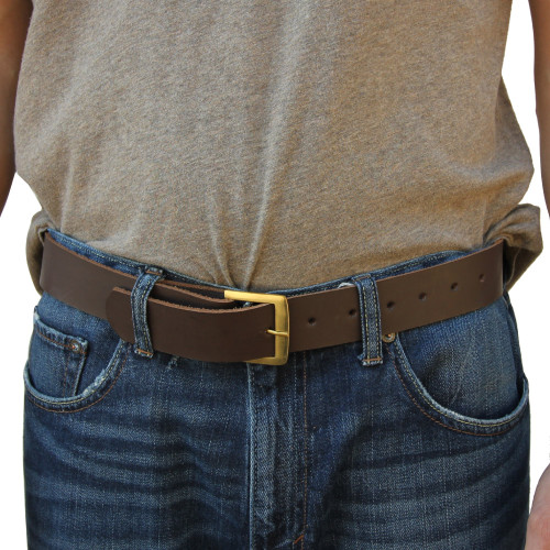 Medieval Gentry Simple Leather Belt Medium