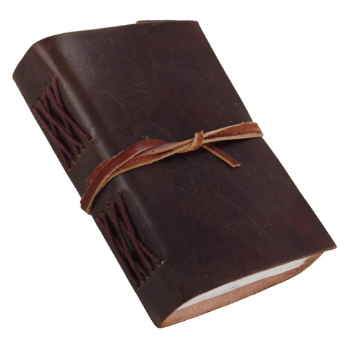 Leather Cover Handmade Diary Journal Book
