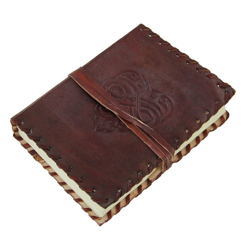 Celtic Infinite Love Leather Brown Journal