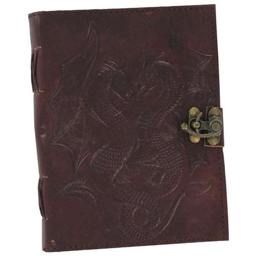 Double Dragon Leather Handmade Journal