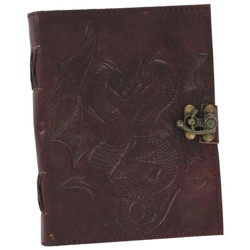 Double Dragon Leather Handmade Journal