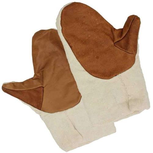 Medieval Cotton Padded Mitten Gauntlets