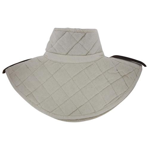 Cotton Padding Collar Armor Medieval Garment White