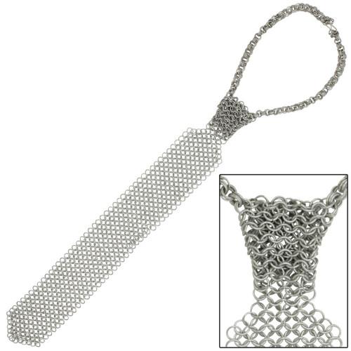 Medieval Chainmail Necktie