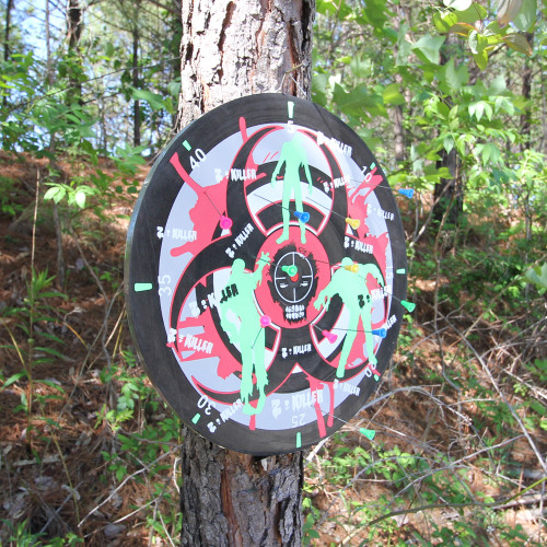 Night Terror Infected Apocalypse Target Board