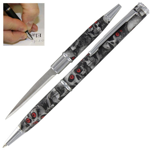 Demon Skull Devastation Executive Pen Knife