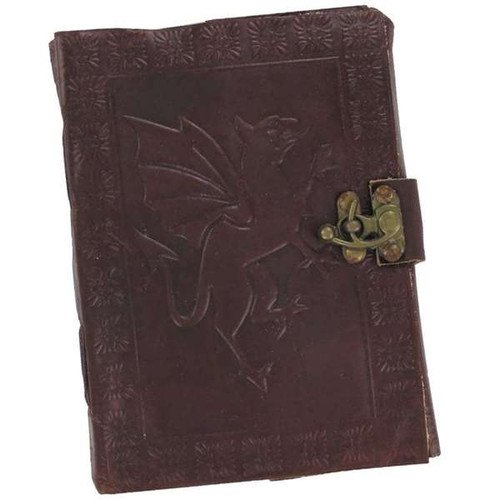 The Dragon and the Hummingbird Leather Journal