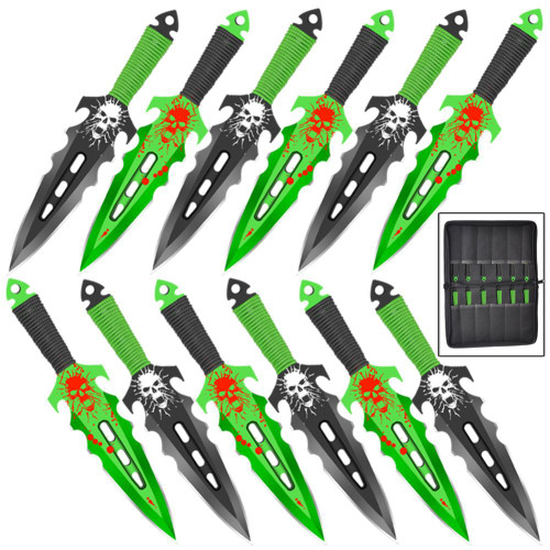 Brutal Necromancer Throwing Knife Set