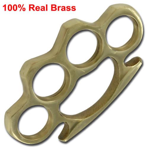 Vintage Genuine Solid Brass Paperweight Knuckle