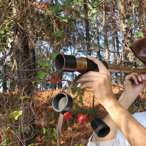 Brass Land Ho Pirate Spyglass Telescope