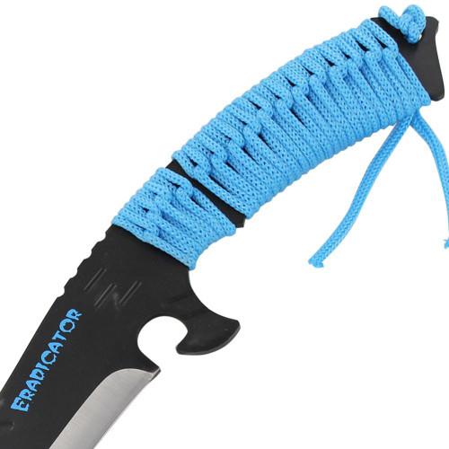 Eradicator Full Tang Blue Hunting Knife