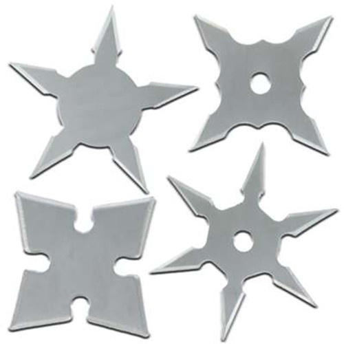 Throwing Stars Mini Shinobi Pro Set