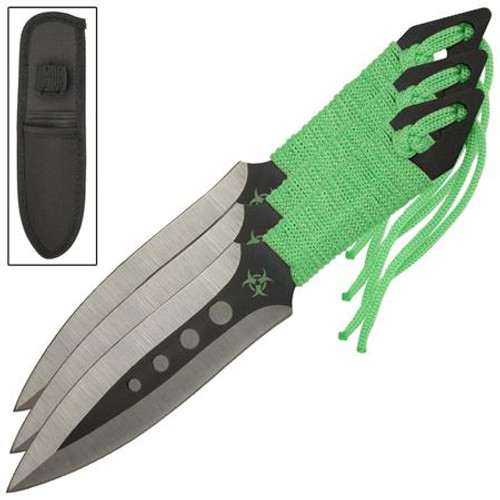 Demon Knight Three-Piece Throwing Knives