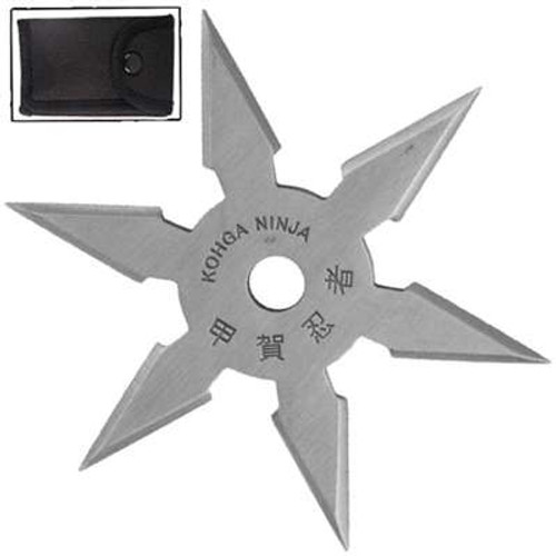 Khoga Ninja Six Point Sure Stick Throwing Star