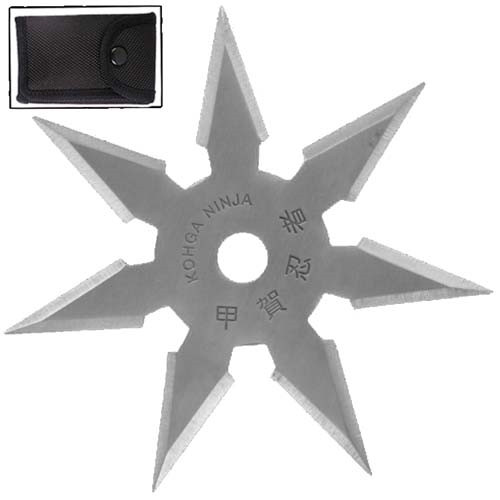 Khoga Ninja Seven Point Sure Stick Throwing Star