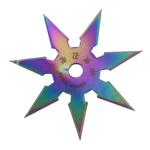 Secret Khoga Ninja Seven Points Throwing Star Titanium
