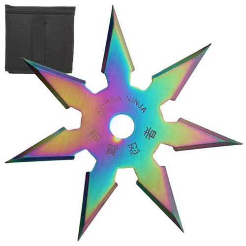 Secret Khoga Ninja Seven Points Throwing Star Titanium