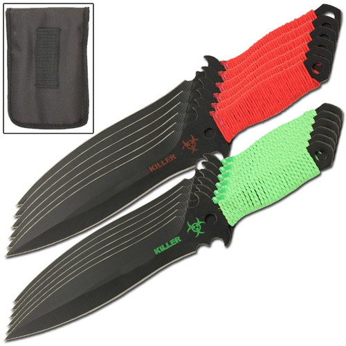 Vigilant 12 Piece Throwing Knives