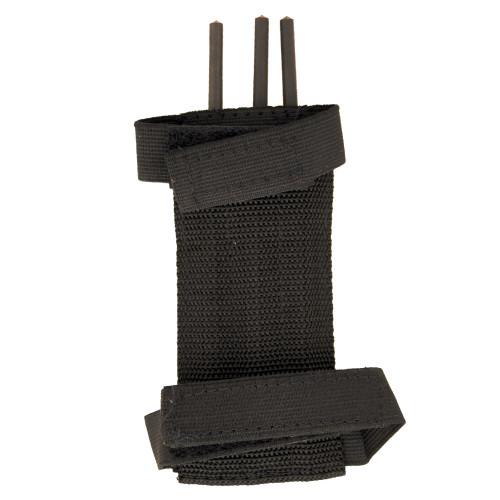 Ninja Assassin Arm Spikes 3pcs Set With Belt Pouch