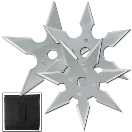 Khoga Ninja Sure Stick Throwing Star 3pcs Set