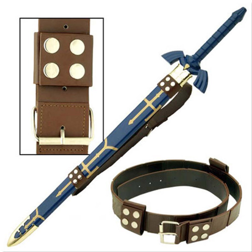 Link Hyrule Sword Leather Belt Strap