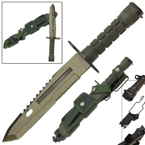 CSGO Combat M9 Military Bayonet Tactical Survival Knife