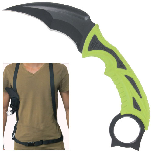 Funeral Rites Fixed Blade Survival Karambit