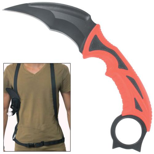 Devils Temptation Fixed Blade Survival Karambit