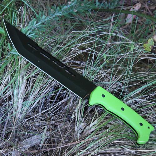 Sawback Praying Mantis Hunting Knife