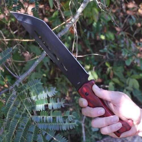 Sawback Feral Instincts Hunting Knife