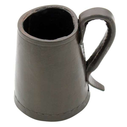 Tudor Tankard Leather Drinking Vessel