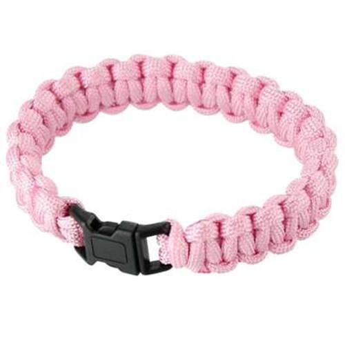 Bracelet Survival Paracord Bubblegum Pink Stylish