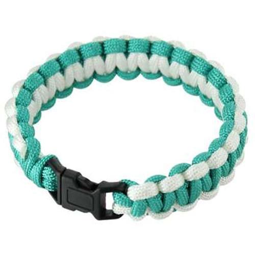 Nylon Paracord Bracelet 550lbs Seabreeze