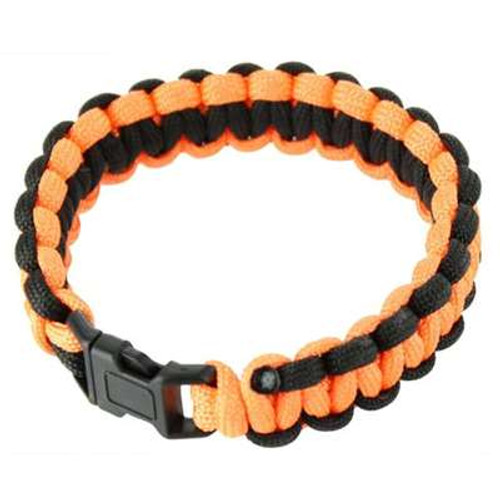 High Visibility Knotted Paracord Bracelet 8.5ft