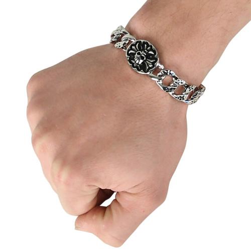 Celtic Emblem Metallic Bracelet Set