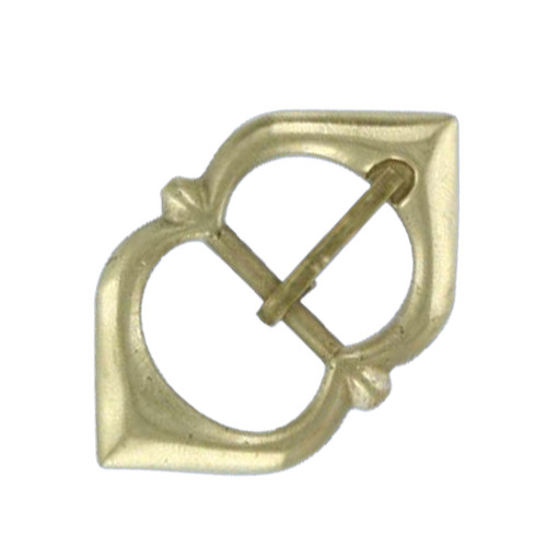 Renaissance Medieval Solid Brass Strap Buckle