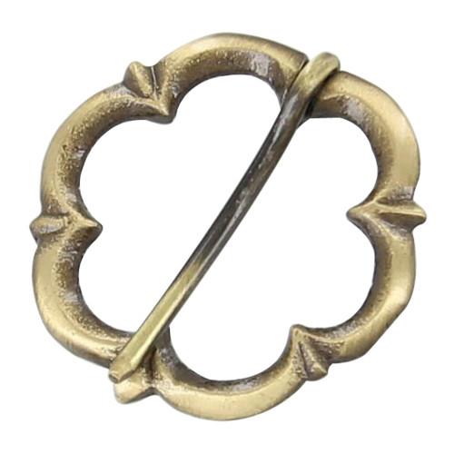 Medieval Brass Buckle
