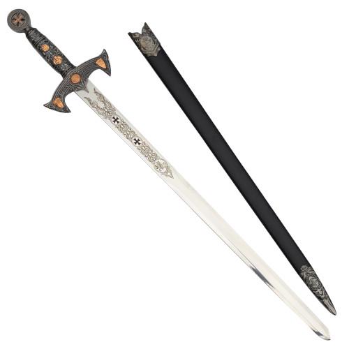 Knights Templar Medieval Sword