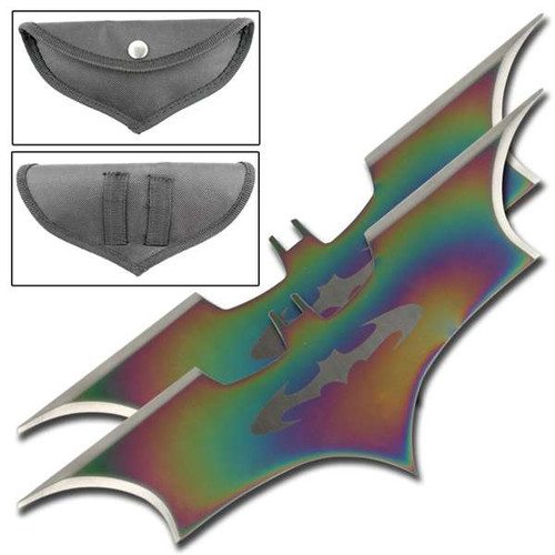 Fantasy Dark Bat Thrower Set Titanium